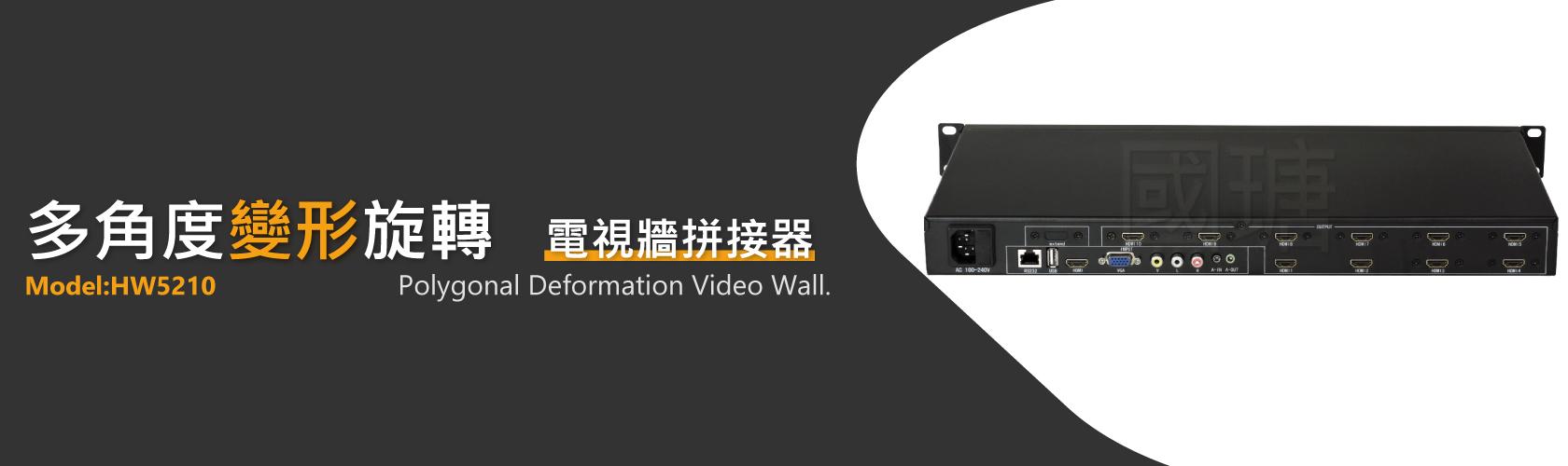 變形電視牆拼接器